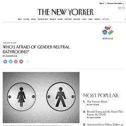 Who's Afraid of Gender-Neutral Bathrooms?