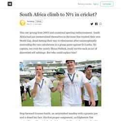 South Africa climb to №1 in cricket? - Tsmsblog - Medium
