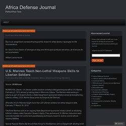 Africa Defense Journal