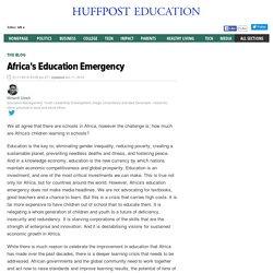 Africa's Education Emergency
