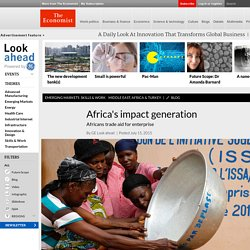 Africa's impact generation -