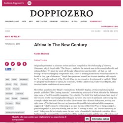 Africa In The New Century