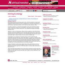 Africa Investor - Ai News