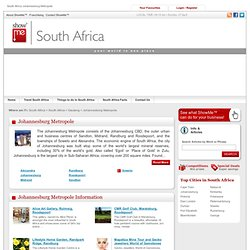 South Africa Johannesburg Metropole