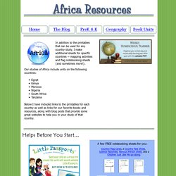 Africa Lesson Plans and Resources