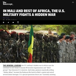 In Mali and Rest of Africa, the U.S. Military Fights a Hidden War