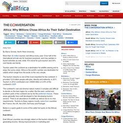 Africa: Why Millions Chose Africa As Their Safari Destination
