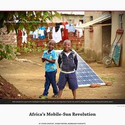 Africa's Mobile-Sun Revolution