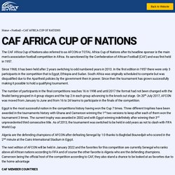 CAF: Africa Cup of Nations - Gal Sport Betting Uganda