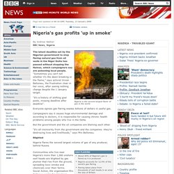 Nigeria's gas profits 'up in smoke'