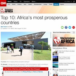 Africa's prosperity Report: The winners and losers