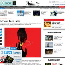 Africa's Tech Edge - Dayo Olopade