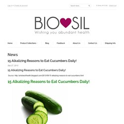 News – Bio-Sil South Africa - Wishing you abundant health