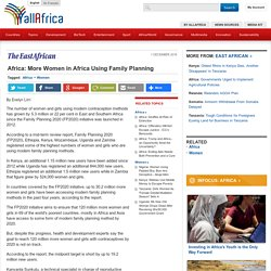 Africa: More Women in Africa Using Family Planning