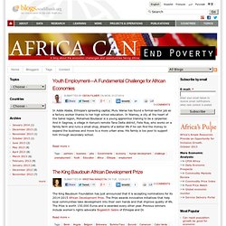 AfricaCan End Poverty