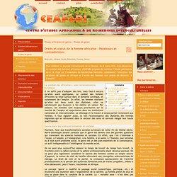 Droits et statut de la femme africaine : Paradoxes et contradictions - [Ceafri]