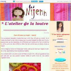 Fleur africaine au crochet : tutoriel - Nijenn