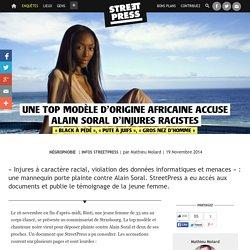 Une top modèle d'origine africaine accuse Alain Soral d'injures racistes