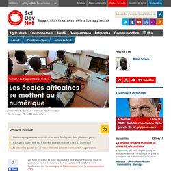 Les écoles africaines se mettent au numérique - SciDev.Net Afrique Sub-Saharienne