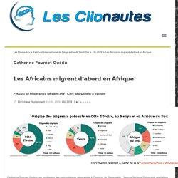 Les Africains migrent d'abord en Afrique