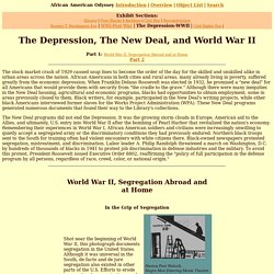 African American Odyssey: The Depression, The New Deal, and World War II (Part 1)