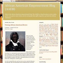 African American Empowerment Blog (AAEB): Unsung African American Heroes