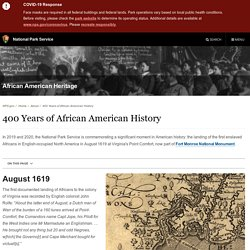 400 Years of African American History - African American Heritage