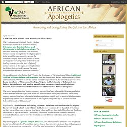 A Major New Survey on Religion in Africa
