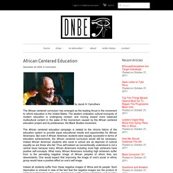 African Centered Education – DNBE