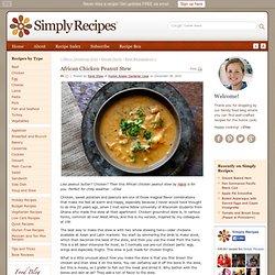 African Chicken Peanut Stew Recipe