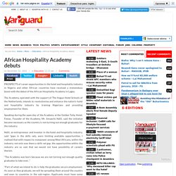 African Hospitality Academy debuts