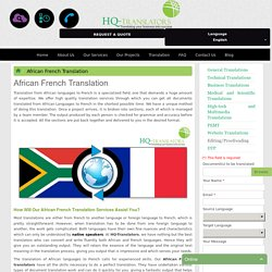 African French Translation Company