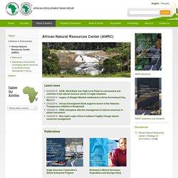 Centre Africain des Ressources Naturelles (CARN)