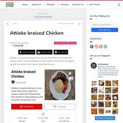 Attieke braised Chicken