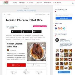 Ivoirian Chicken Jollof Rice