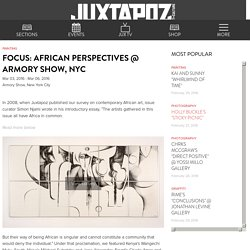 Focus: African Perspectives @ Armory Show, NYC
