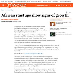 African startups show signs of growth