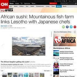 African sushi: fish links Lesotho and Japanese chefs