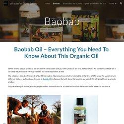 African Fair Trade Society - Baobab