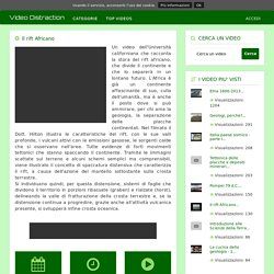 Il rift Africano - Video Distraction