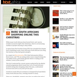 More South Africans shopping online this Christmas