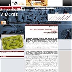 Analyse - Africains subsahariens et médias en Belgique