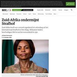 Zuid-Afrika ondermijnt Strafhof