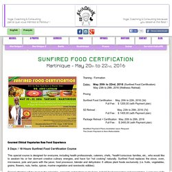 SunfiredFoodCertification