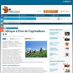 L'Afrique à l'ère de l'agriculture 2.0
