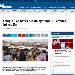 Afrique : les bénéfices du système D... comme débrouille