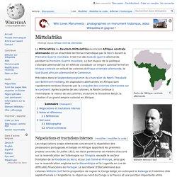 Afrique centrale allemande