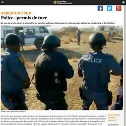 Police : permis de tuer