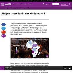 Afrique : vers la fin des dictateurs ?
