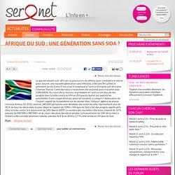 Afrique du Sud : une génération sans sida ?